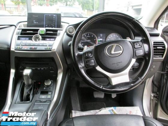 2015 LEXUS NX 200 T Luxury 2.0 OriPaint TipTOp