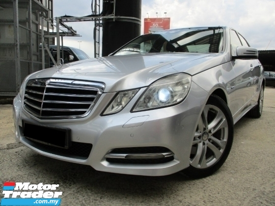 2012 MERCEDES-BENZ E-CLASS E250 CGI BLUE EFFICIENCY (A)Local FullSpec P/Boot