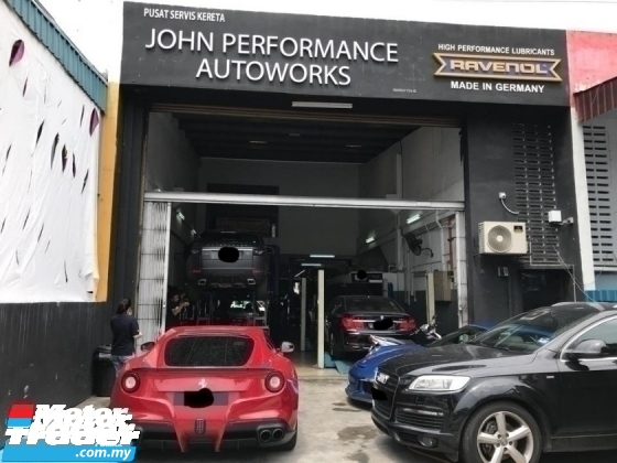 WORKSHOP BENGKEL KERETA SPECIALIST REPAIR AND SERVICE CONTINENTAL JAPAN CAR REPAIRER