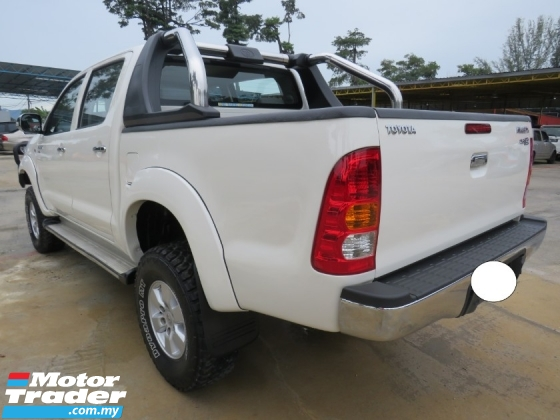 2011 TOYOTA HILUX 2.5 (M) G D-4D Turbo Nice No Plate 4222 High Loan