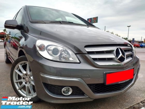 2011 MERCEDES-BENZ B-CLASS  1.7 (A) FACELIFT AVANTGARDE