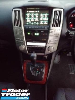 2008 TOYOTA HARRIER 240G PREMIUM PACKAGE