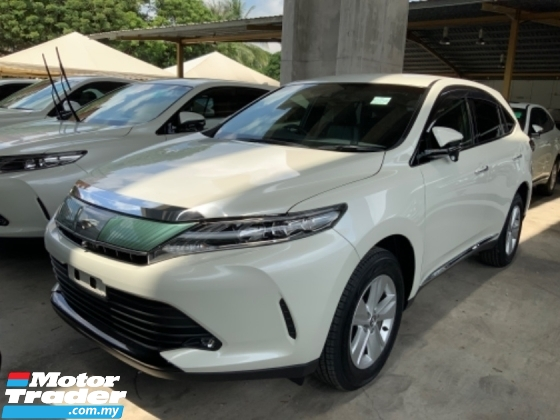 2017 TOYOTA HARRIER 2.0 surround camera power boot push start keyless entry facelift