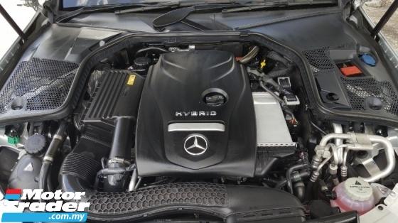 2017 MERCEDES-BENZ C-CLASS C350e 2.0 Hybrid Warranty Until 2022 Like New