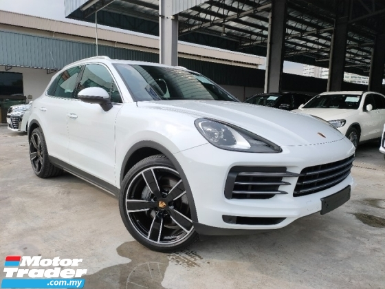 2018 PORSCHE CAYENNE Cayenne S 2.9 UK PanRoof Leather Unregister Offer