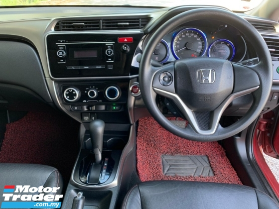 2016 HONDA CITY 1.5 (A) Full Service Record 1 Lady Owner Only