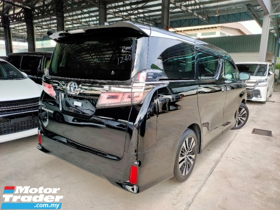2018 TOYOTA VELLFIRE Vellfire 2.5 ZG PreCrash LTA Leather Unreg Offer..