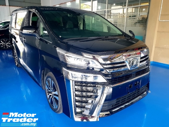 2018 TOYOTA VELLFIRE 3.5 Z G EDITION BRAND NEW CAR FREE 5 YEAR WARRANTY