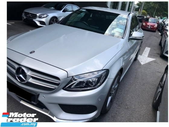 2018 MERCEDES-BENZ C-CLASS C200 2.0 AMG IN LINE ADVANTGARDE W205 29K KM