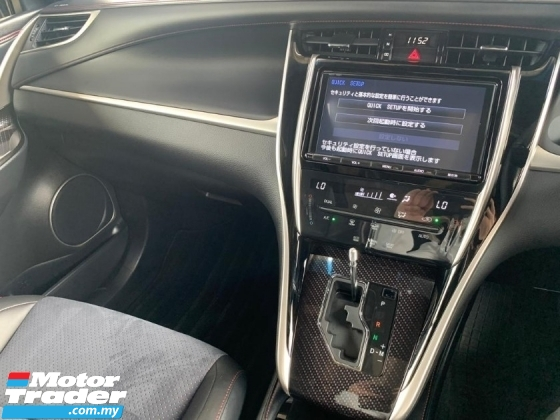 2017 TOYOTA HARRIER 2.0 Turbo Facelift Unregister PanoramicRoof P/Boot
