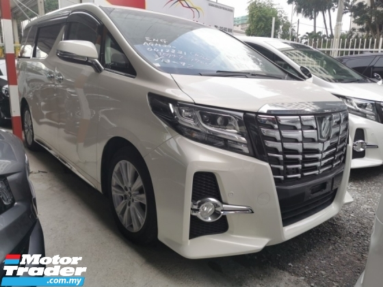 2015 TOYOTA ALPHARD SA 2.5 / SUNROOF / PRE-CRASSH / 5 YEARS WARRANTY UNLIMITED KM