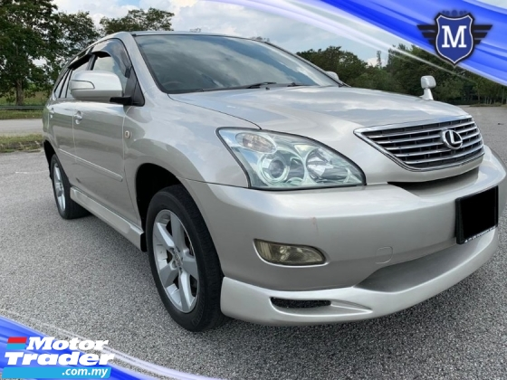 2003 TOYOTA HARRIER 240G PREMIUML SUNROOF POWER SEAT GOOD CONDITION ( CASH DEAL ONLY )
