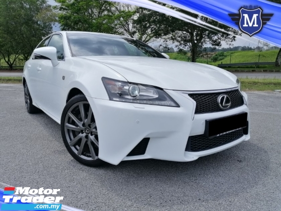 2012 LEXUS GS 250 2.5 F SPORT CBU LOCAL P/START P/SEAT WARRANTY