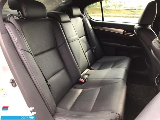2012 LEXUS GS 250 2.5 F SPORT CBU LOCAL P/START P/SEAT WARRANTY