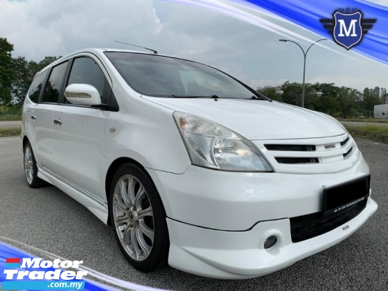 2009 NISSAN GRAND LIVINA IMPUL 1.8L (A) FULL BODYKIT ANDROID PLAYER REVERSE CAMERA LEATHER SEAT