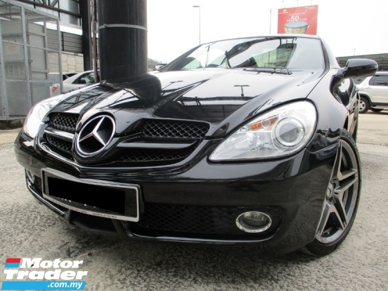 2009 MERCEDES-BENZ SLK SLK200 KOMPRESSOR AMG 1.8 (A) NiceCOnDiTion