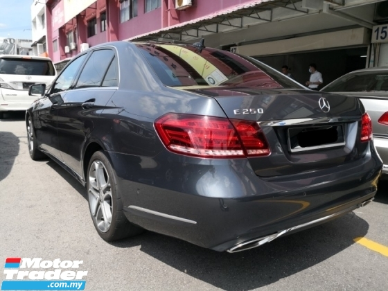 2014 MERCEDES-BENZ E-CLASS E250 2.0 Local TRUE YEAR MADE 2014 Free 2 Year Warranty Mil 56k km only Full Service Hap Seng