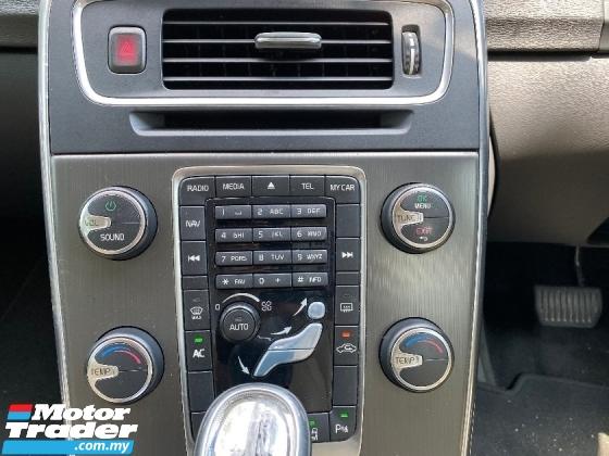 2013 VOLVO S60 2.0 T5 SEDAN CKD LOCAL P/SEAT P/START WARRANTY