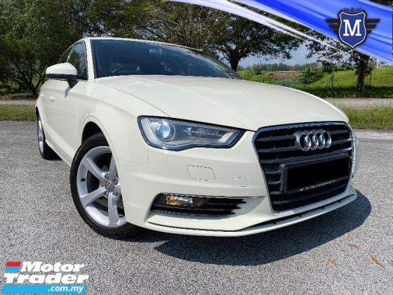 2014 AUDI A3 1.4T TSFI SEDAN P/SEAT CKD LOCAL TIPTOP CONDITION