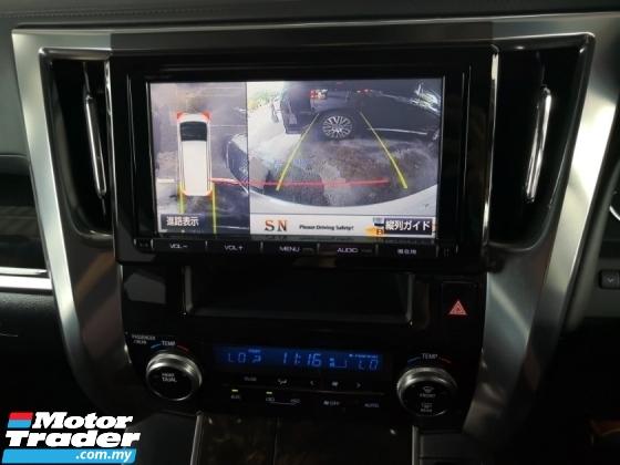 2015 TOYOTA VELLFIRE 2.5 Z Modelista 360 cam Dual Power Doors Power Boot Japan Unreg SST OFFER