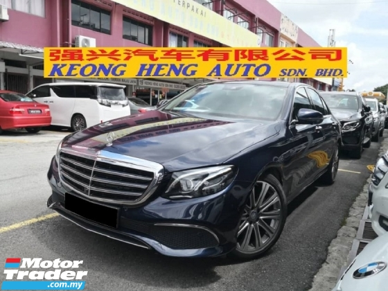2016 MERCEDES-BENZ E-CLASS E250 New Model TRUE YEAR MADE 2016 CBU EXCLUSIVE LINE Mil 55k Full Service Under Warranty Hap Seng