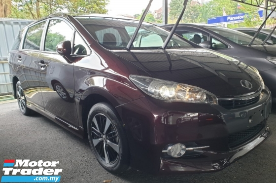 2015 TOYOTA WISH 1.8 S SUNROOF Maroon colour UNREG TIPTOP Condition