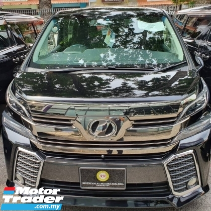 2016 TOYOTA VELLFIRE 2.5 ZA,4CAM,POWER BOOT.PRICE INCLUDED SST