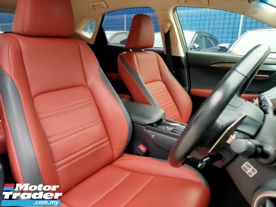 2017 LEXUS NX 200T Urban Style Leather PBoot Unreg Offer
