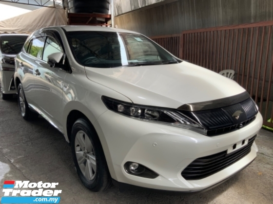2017 TOYOTA HARRIER 2.0 surround camera power boot electric seat push start keyless entry unregistered