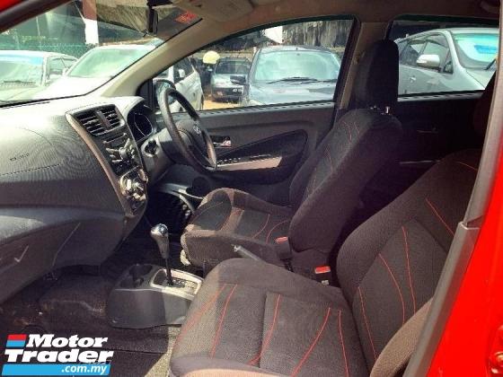 2015 PERODUA AXIA 1.0 SE Hatchback (AUTO) FREE MOTOR BARU + CASH 1K + 6 BULAN INSTALLMENT PERTAMA TAK PAYAH BAYAR BLAC