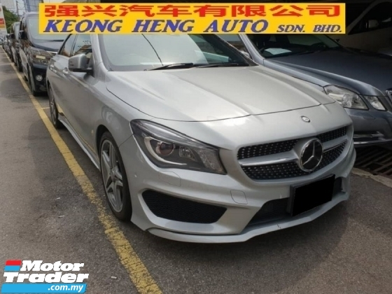 2014 MERCEDES-BENZ CLA 250 AMG (JAPAN SPEC) (FREE 2 YEARS WARRANTY)