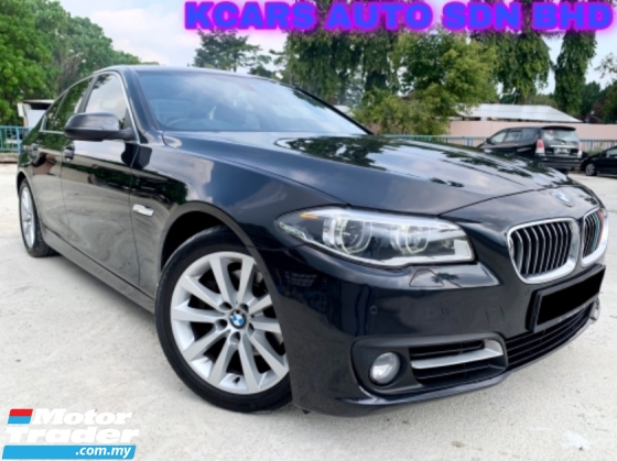 2014 BMW 5 SERIES 520I FACELIFT F10 FULL SVC RCD FREE WARRANTY
