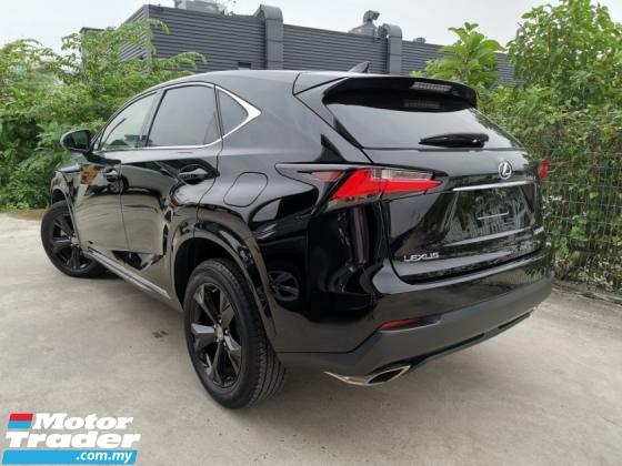 2017 LEXUS NX 200T URBAN STYLE NIGHT EDITION OFFER RAYA UNREG