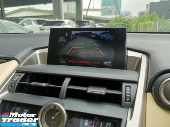 2017 LEXUS NX 200T URBAN STYLE BEIGE INT SUNROOF RAYA OFF UNREG