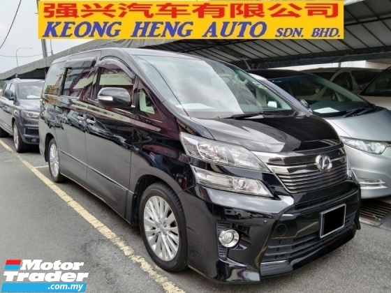 2013 TOYOTA VELLFIRE 3.5 Z G EDITION FACELIFT (FREE 2 YEARS WARRANTY)