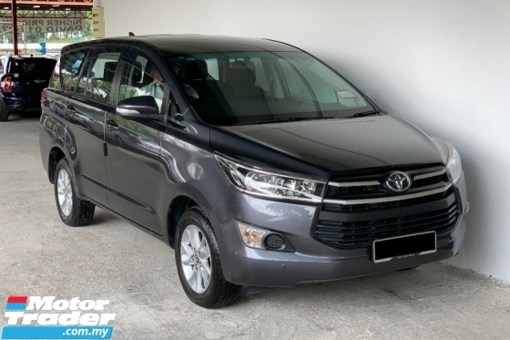 2018 TOYOTA INNOVA  2.0 Auto New Facefilt Premium Model