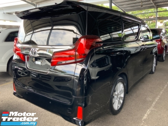 2018 TOYOTA ALPHARD 2.5 S 2 power doors surround camera power boot facelift 2 years warranty unregistered
