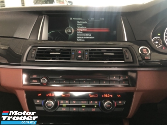 2013 BMW 5 SERIES 520I FACELIFT FULL SVC RCD ACTUAL YEAR MAKE 2014