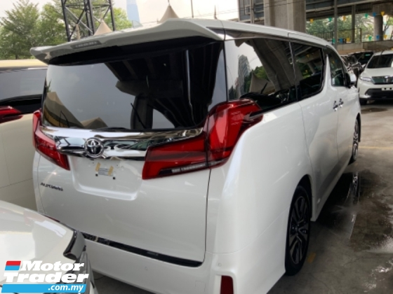 2019 TOYOTA ALPHARD 2.5 SC pilot seat facelift surround camera power boot 3 LED 2 years warranty unregistered