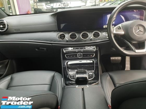 2017 MERCEDES-BENZ E-CLASS E200 AMG W213