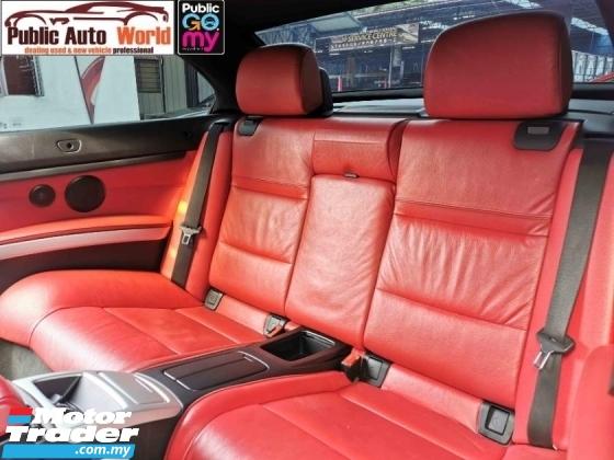 2009 BMW 3 SERIES BMW 325Ci E92 Coupe Cabriolet 4SEAT M SPORT WRRNTY