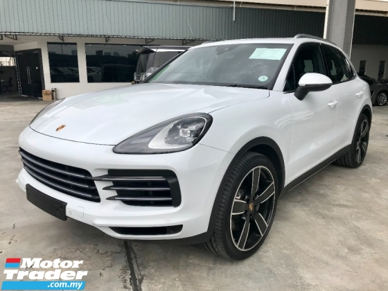 2018 PORSCHE CAYENNE CAYENNE S 2.9 HIGH SPEC UNREG MUST VIEW GREAT DEAL
