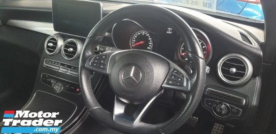 2016 MERCEDES-BENZ C-CLASS C300 AMG LINE PREMIUM PLUS COUPE ALL TAX INCLUDE