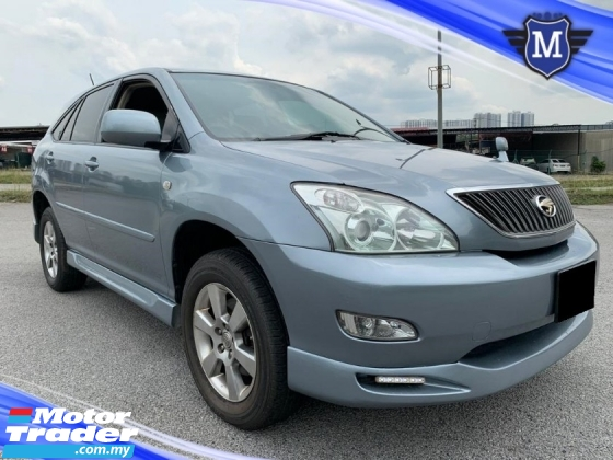 2005 TOYOTA HARRIER 3.0 (A) 300G SUV CASH DEAL / POWER SEAT / TOUCH SCREEN PLAYER