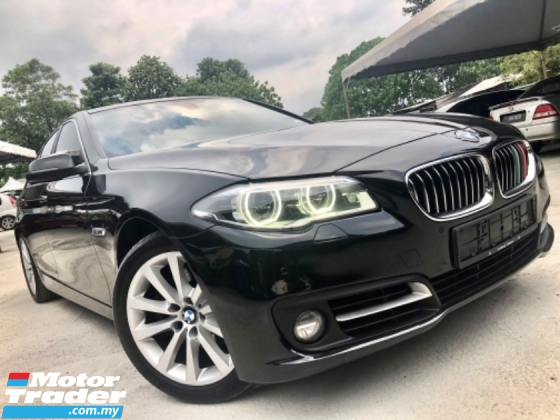 2014 BMW 5 SERIES F10 520i 2.0 SPORT (A) FACELIFT FUL SERVICE RECORD
