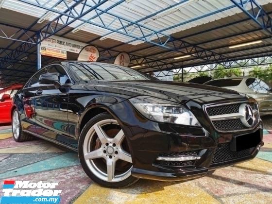 2013 MERCEDES-BENZ CLS-CLASS Mercedes Benz CLS350 V6 AMG S/ROOF PwBOOT WARRANTY