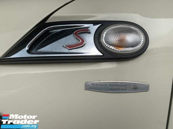2007 MINI Cooper S 1.6 TURBO LIMITED EDITION