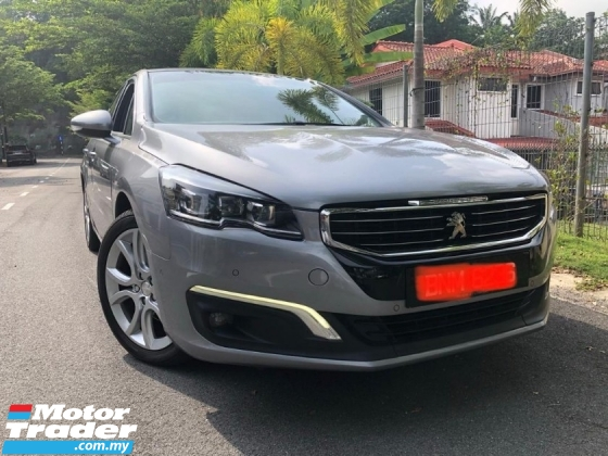 2016 PEUGEOT 508 1.6 THP (A )Warranty 2022 Nego until Go