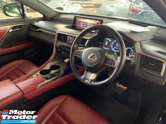 2018 LEXUS RX300 2.0t F-Sport Unreg 2Yrs Warranty Panoramic Red Int