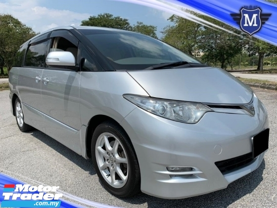 2009 TOYOTA ESTIMA 2.4 AERAS G (A) MPV TWIN POWER DOOR NICE NUMBER 62 CAR KING CONDITION